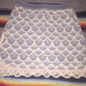 Medium Ryu Scalloped Boutique Skirt